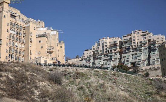 הנחת אבן הפינה לבית יעקב בצפת, צילום דוד כהן (47)