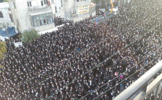הפגנה המונית בבר אילן