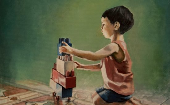 הציור של האוורד פוקס שנמכר בתערוכה - צילום שהם אפרתי