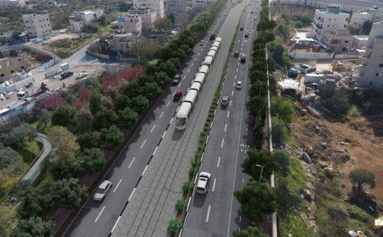 הקלה, צילום: תכנית אב לתחבורה ירושלים