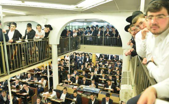 הרב אדלשטיין בישיבת בית מדרש עליון, צילום מוטי גרין (10)