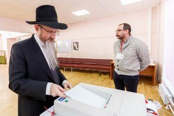 צפו: הרב לאזאר מימש את זוכת הבחירה