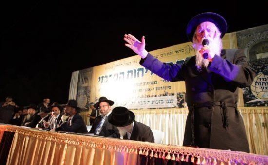 הרב גרוסמן ואור ישראלי בסליחות במירון אצל רשבי47