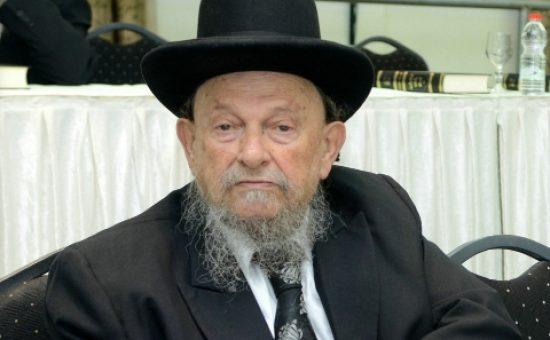 הרב יהודה וולפא - רבה של ראשון לציון | צילום: משה גולדשטיין