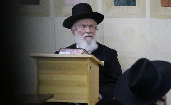 הרב יצחק זילברשטיין בעצרת ברמת אלחנן צילום בעריש פילמר (8)