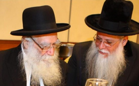 הרב מלכה - הרב יעקובוביץ זצ''ל עם יבלחט''א הרב מלכא