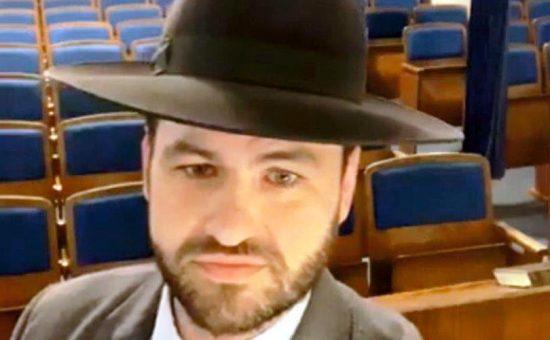 הרב מרדכי באלה רבה של לייפציג בשיעור ברשת (1)
