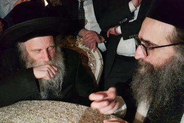 הרב פינטו הגיע לביקור בזק בישראל
