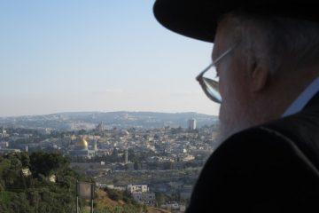 הרהורים אל מול תצפית המקדש