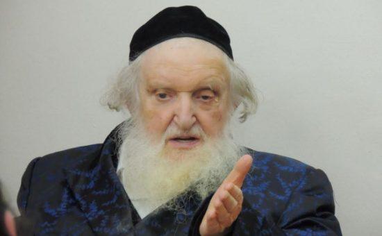"""ראב""""ד העדה החרדית הגאון רבי משה שטרנבוך"""