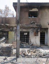 """גפני לנפגעי השרפות: """"המדינה משותקת בגלל אדם אחד שהחליט בחירות"""""""