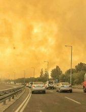 חיים באי ודאות: שבוע וחצי לשריפה שהכחידה יישוב