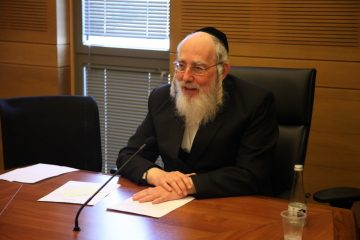 צפו: אייכלר 'הכניס' יהדות במליאת הכנסת