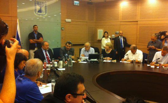 ועדת חוץ וביטחון. צילום: הכנסת