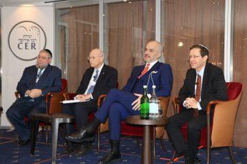 נשיא ועידת הרבנים לנשיא הנבחר: מצפים להמשיך בדיאלוג