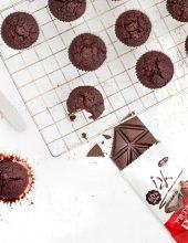 קינוח בריאותי: מאפינס שוקולד וסלק