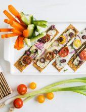 ארוחה קלה: טוסט פניני – קרקר דגנים מפנק