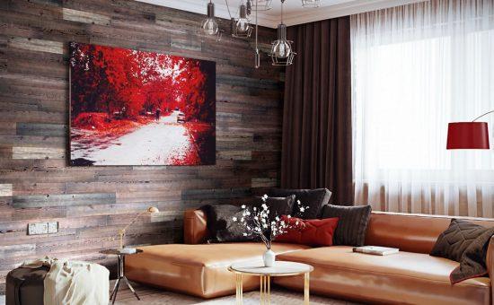 חדש CLICK-WOOD חיפויי קיר מעץ טבעי בשיטת עשה זאת בעצמך | צילום: סטודיו קבוצת אמבר