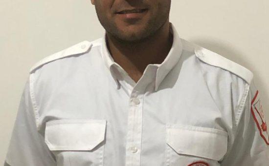 חובש רפואת חירום במדא רשיד גנאים - צילום דוברות מדא