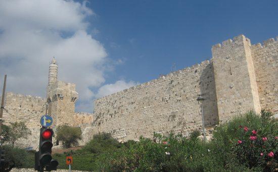 חומות העיר העתיקה, במצד מזרח לשער יפו