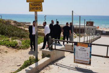 הרב הראשי מציג: כל הדרכים להכשרת החוף הנפרד