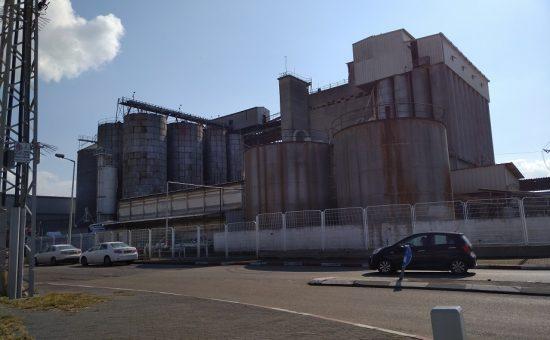 חזית מפעל עמיר דגן, צילום המשרד להגנת הסביבה