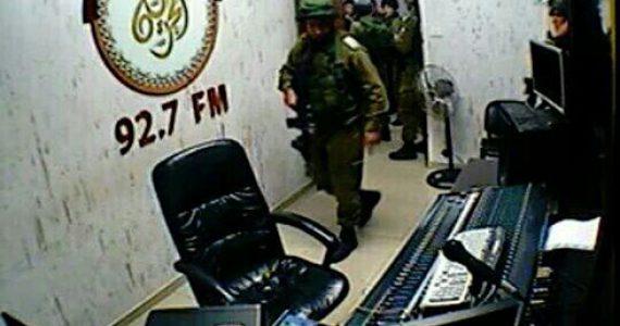 """צה""""ל פשט על תחנת הרדיו בחברון והחרים את הציוד"""