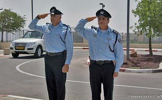 חילופי פיקוד בש''י. צילום דוברות המשטרה