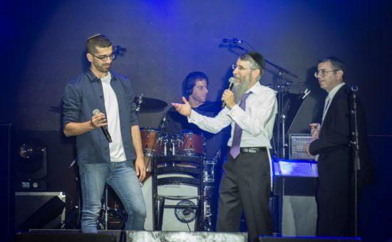 חנן בן ארי ואברהם פריד - צילום מנדי הכטמן
