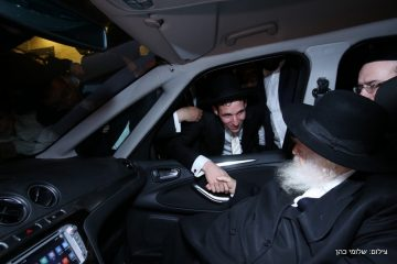 גלריה: חתונת בנו של הרב סורצקין