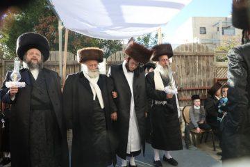 שמחת בית צאנז ז'מיגראד – ספינקא בני ברק