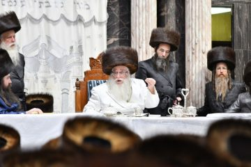 תיעוןד: יום הדין בחצר הקודש צאנז