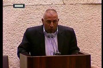טאלב אבו ערער הגיש אי אמון: לא מתמודדים עם הפשיעה הערבית