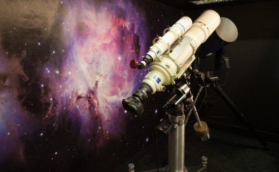 טלסקופ - המדריך לגלקסיה במדעטק | צילום: איל אמיר