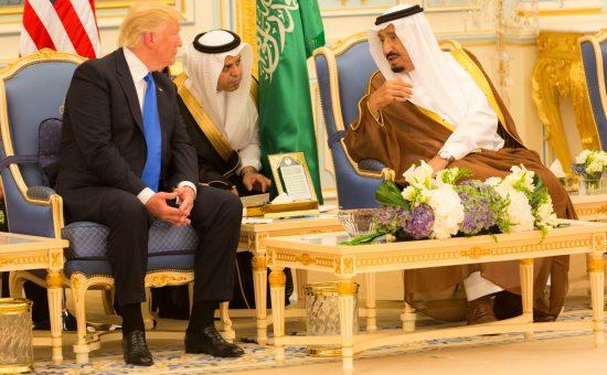 טראמפ בסעודיה, צילום הבית הלבן
