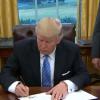 טראמפ: לשיגור הטיל של קוריאה הצפונית יהיו השלכות