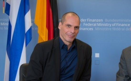 יאניס רופקיס שר האוצר של יוון. צילום: משרד האוצר