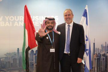 נחנכה הנציגות הראשונה של דובאי בישראל