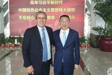 הבורסות הישראלית והסינית ליהלומים חתמו על שיתוף פעולה עסקי