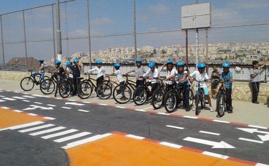 ילדים-מגרש אופניים בביתר עלית - ללא קרדיט צילום