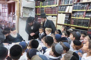 ילדי טלז סטון ביקרו אצל גודלי ישראל