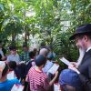 ילדי ״חברת תהלים״ בגן הבוטני במוסקבה