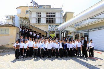 ילדי 'נר שמואל' הגיעו לגדולי ישראל בבני ברק