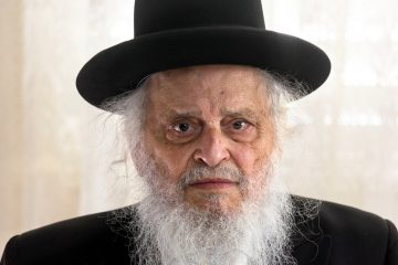 זקן הרבנים 'יקיר העיר'