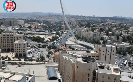 ירושלים במבט מהאויר. צילום פישל רוזנפלד