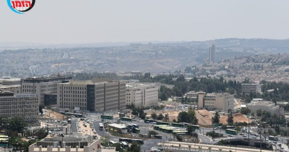 תיעוד מרהיב: כך נראית ירושלים ממעוף הציפור • גלריה