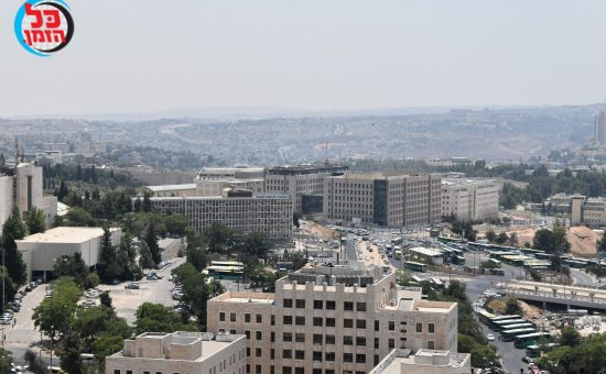 ירושלים במבט מהאויר. צילום פישל רוזנפלד (7)