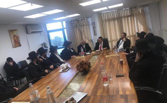 ישיבה עם מנהלי מוסדות חרדיים (6)