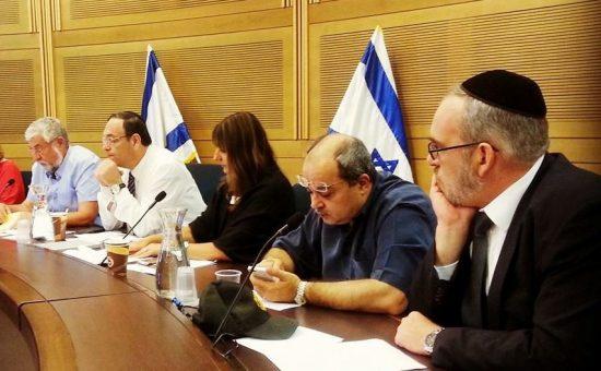 ישיבת ועדת הכלכלה