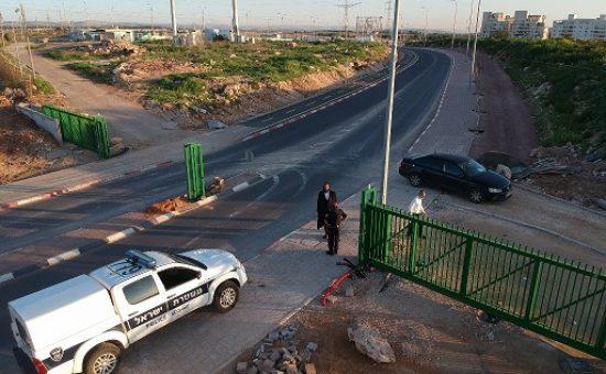 כביש גישה - השער החדש